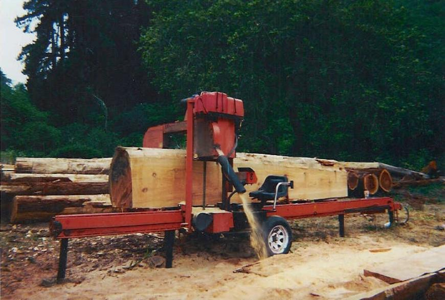 Sawing And Drying Directory Ron Trout Portable Sawmill