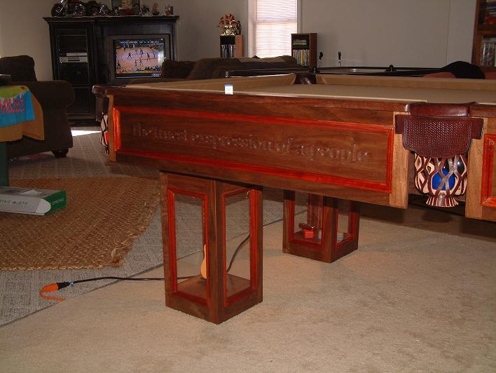 Plans for building a pool table find house plans for Pool table plans