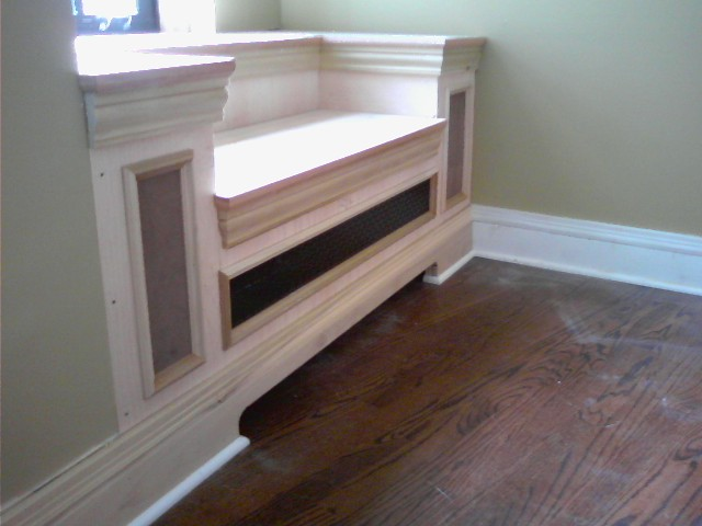 Radiator Cover Bench Seat