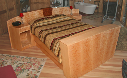 Art Deco Style Bed