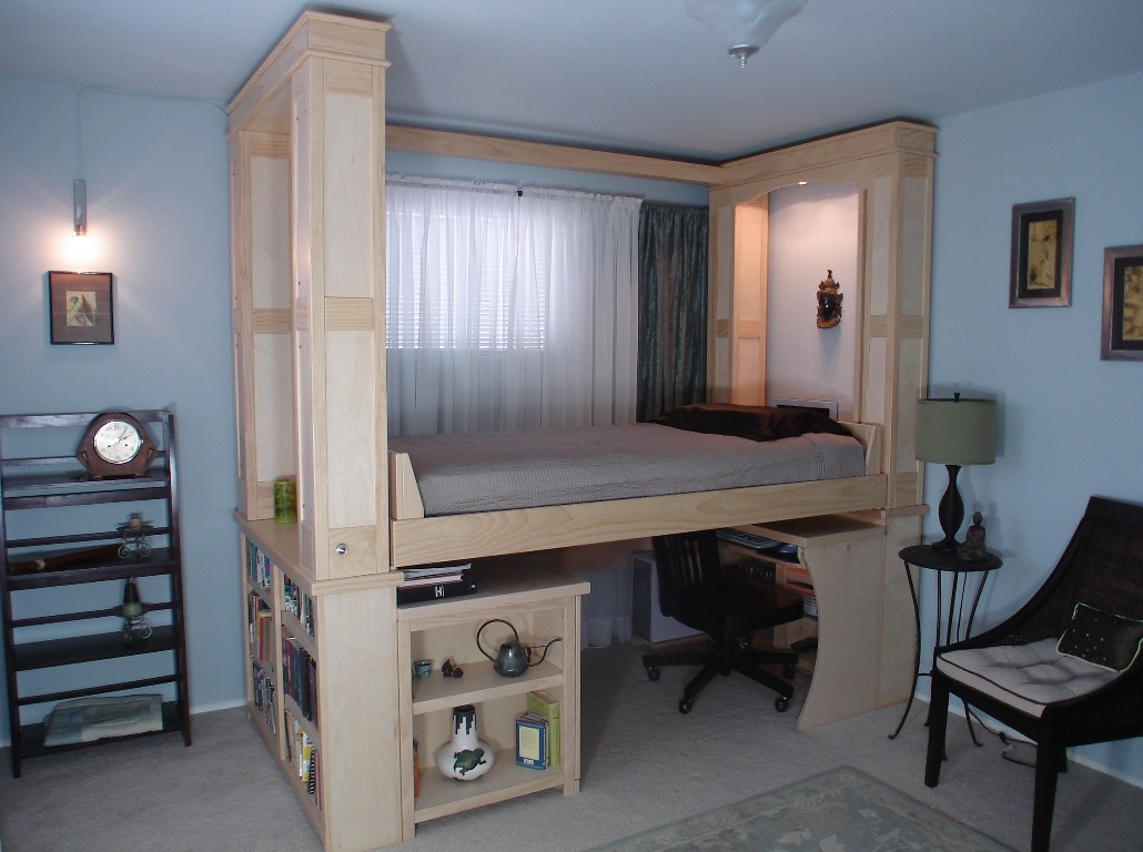 Beds For Small Spaces Part - 50: View Larger, Higher Quality Image