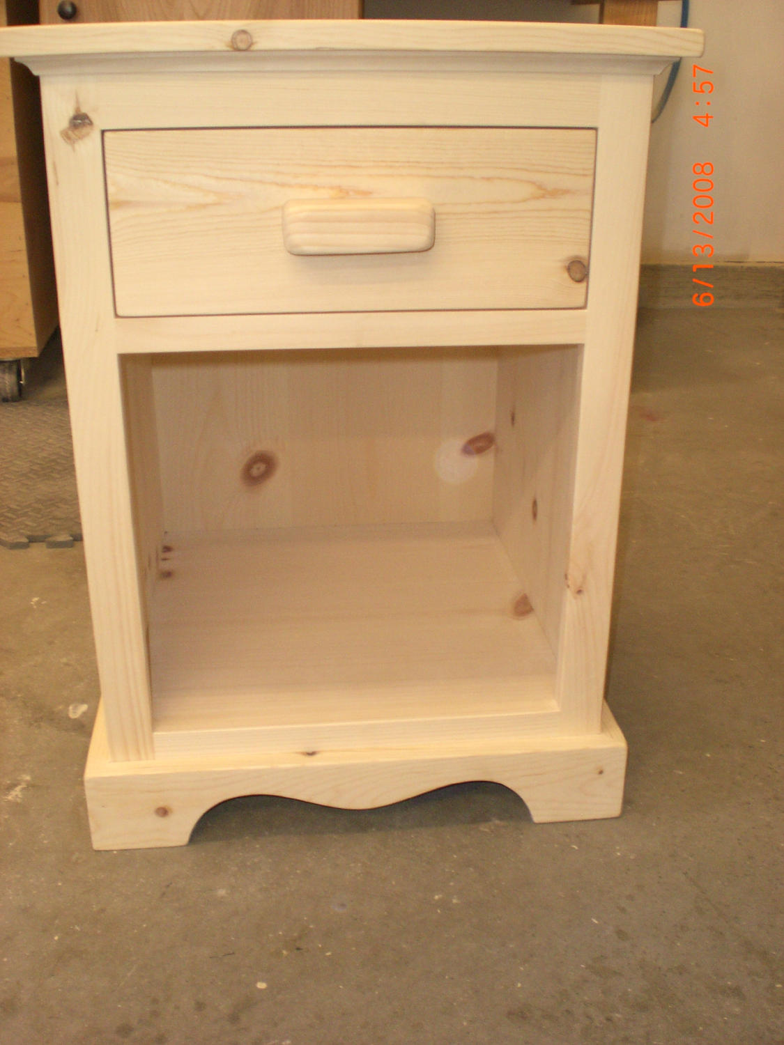 Wall unit and night stand for How to make a nightstand higher