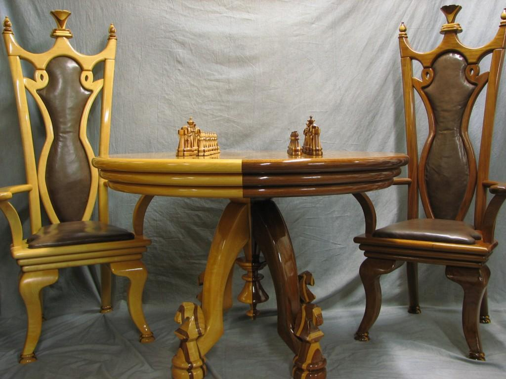 Chess Table Chairs Amp Chess Set
