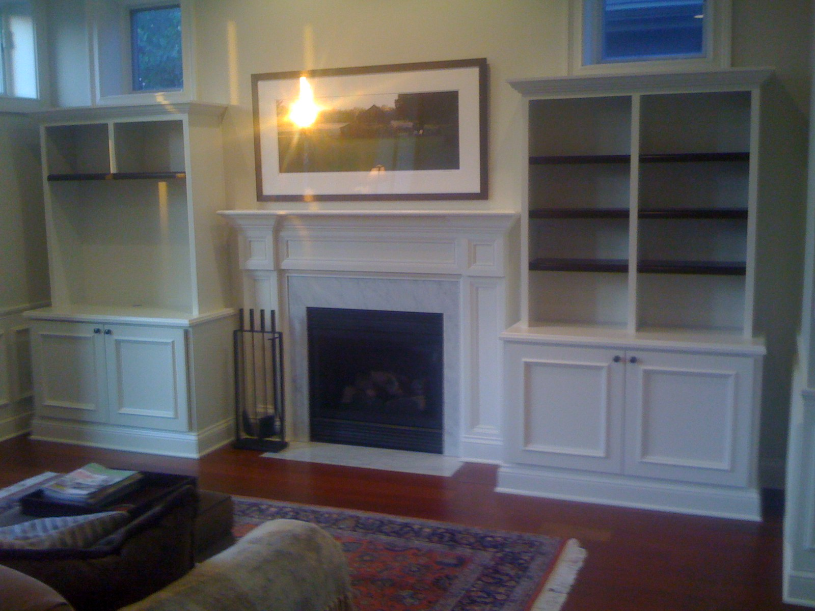 Perfect Fireplace with Built in Side Cabinets 1600 x 1200 · 291 kB · jpeg