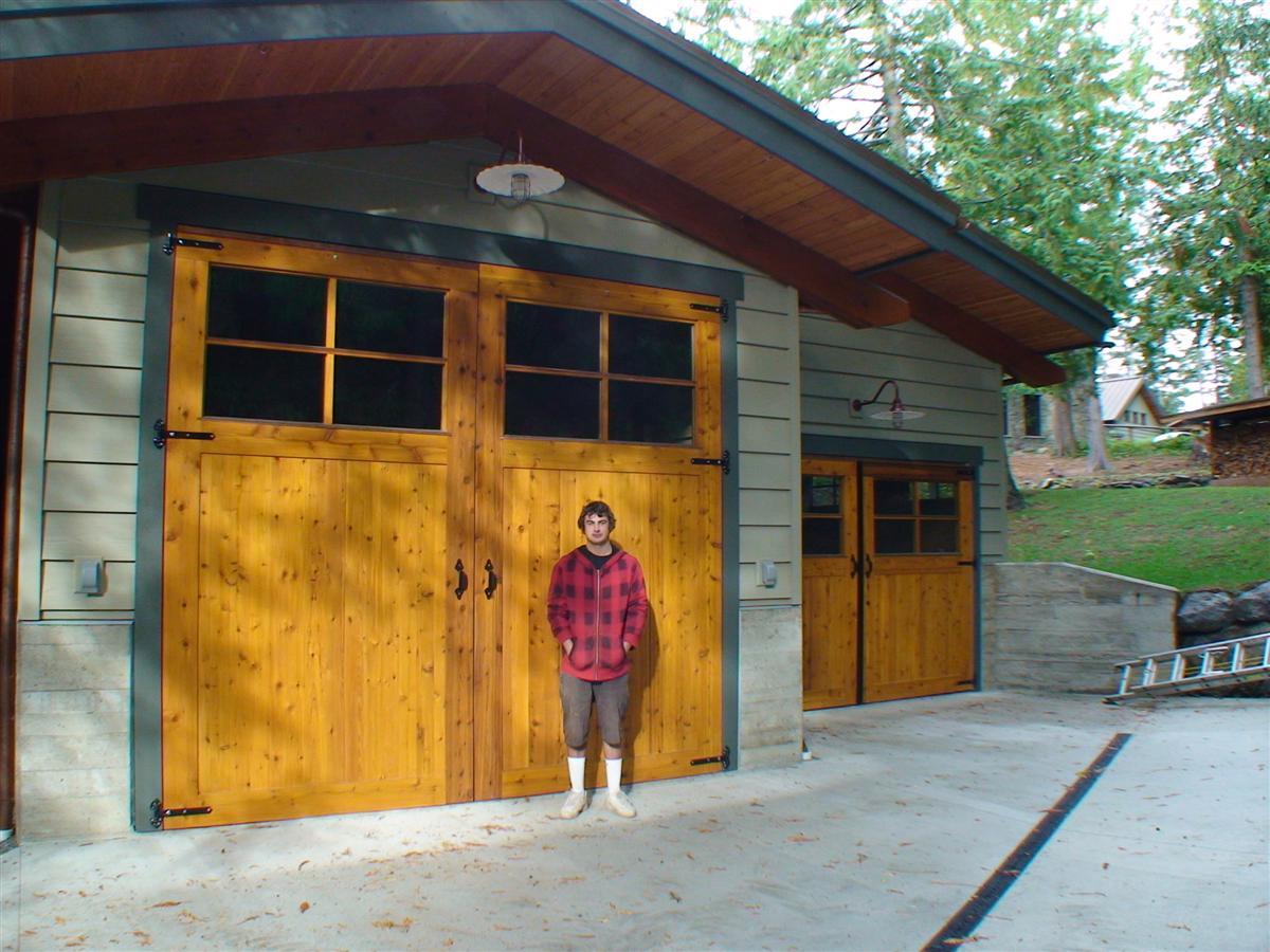 Sing honeycomb door for Oversized garage doors