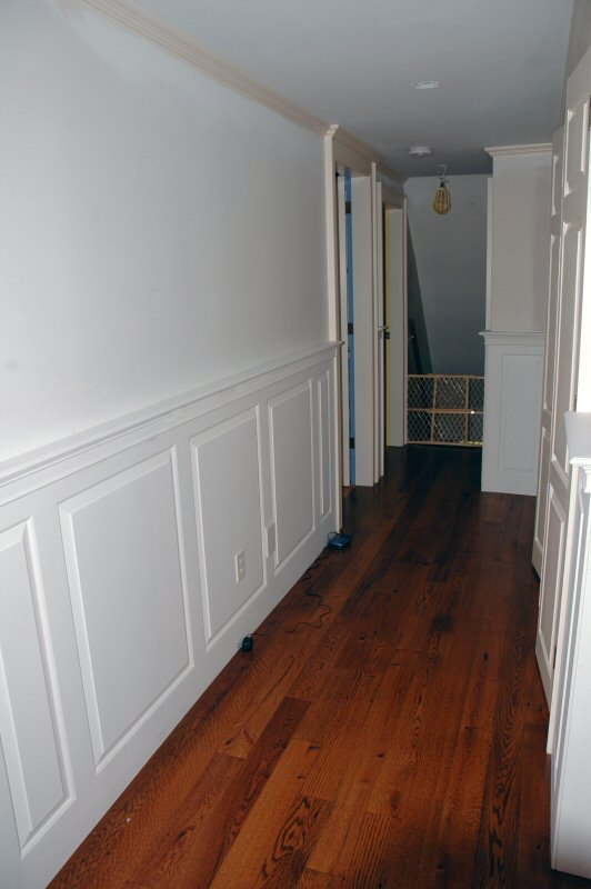 Stair And Wainscot Paneling