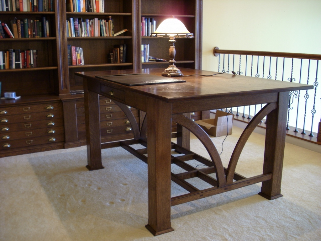 s b oak library antique table bn ebay small desk oval or