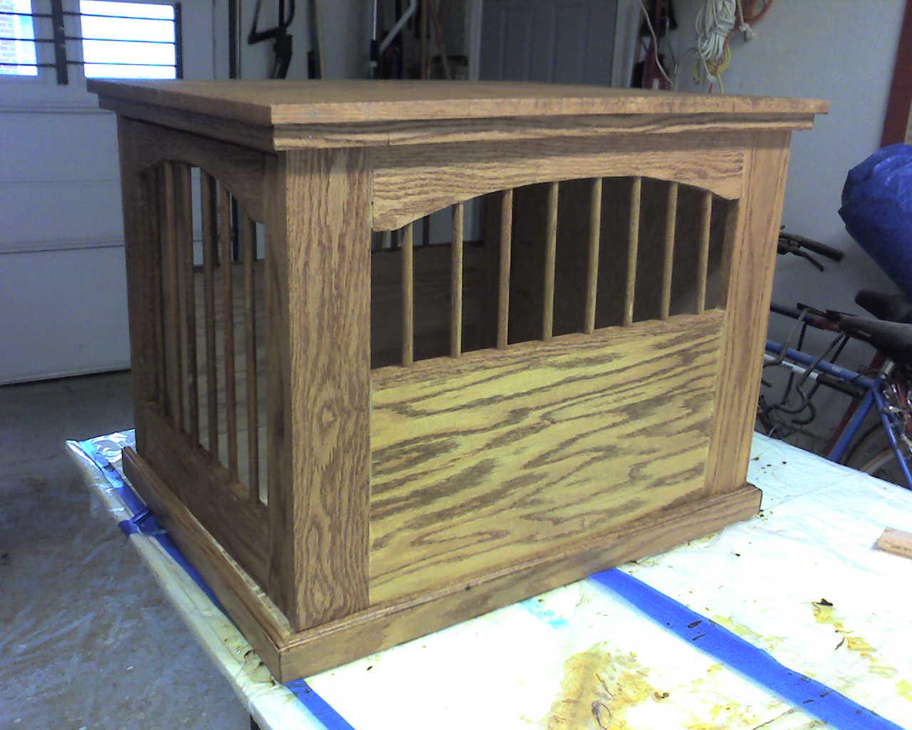 Dog Crate Endtable