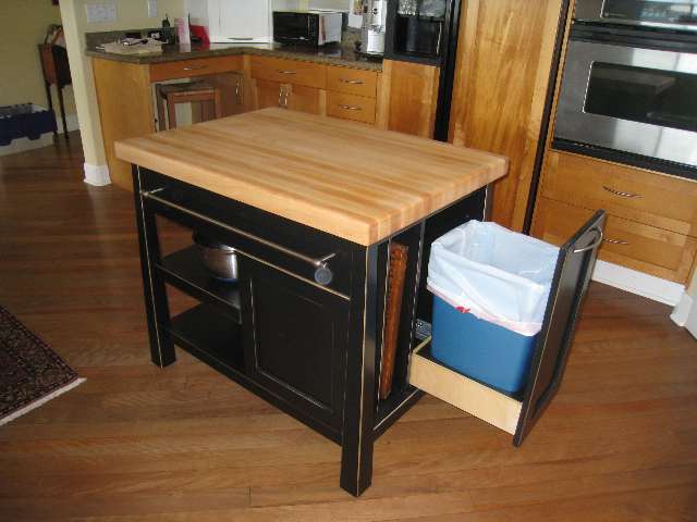 asian butcher block kitchen island