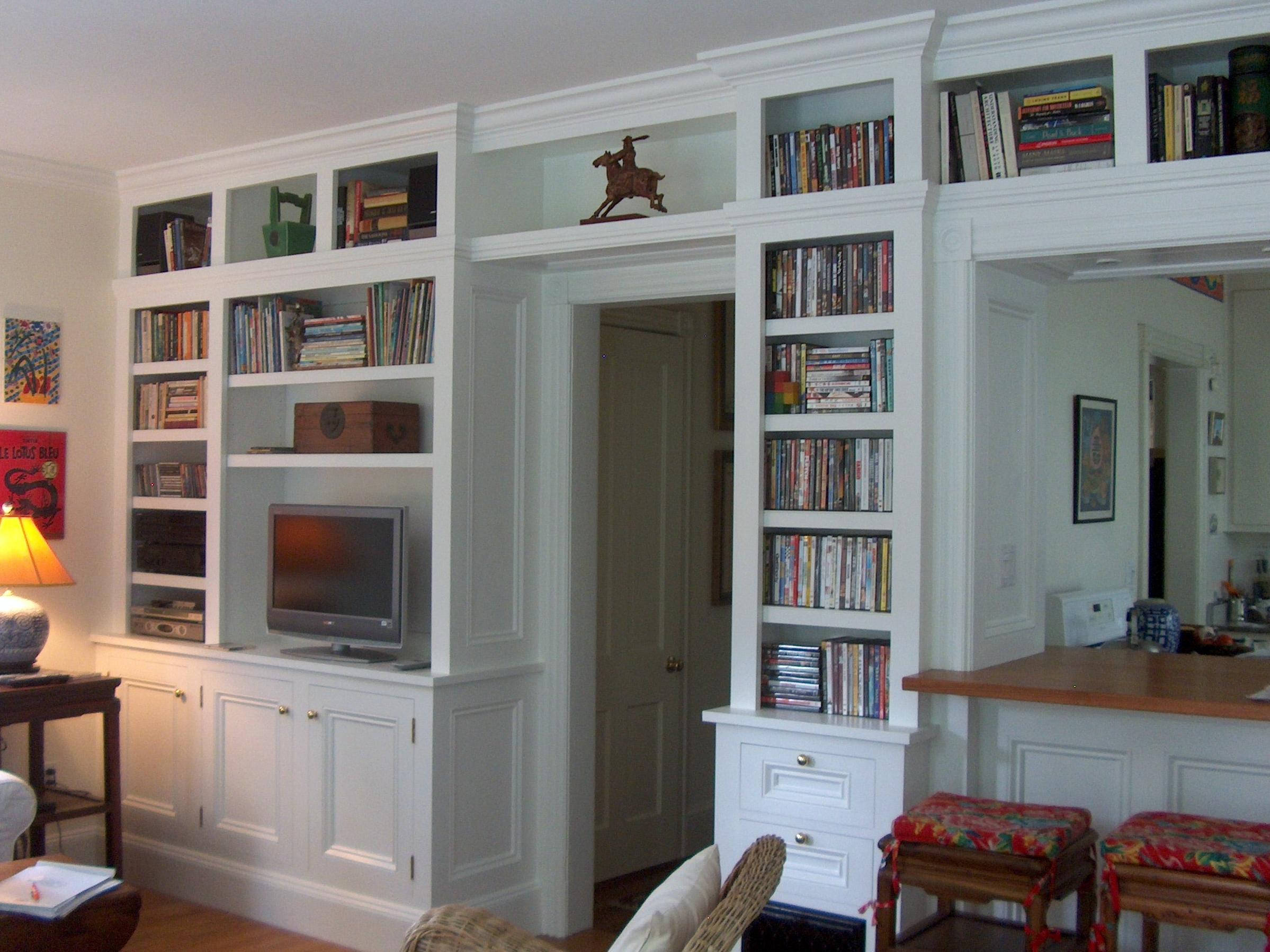 Built in Bookcases Cabinets