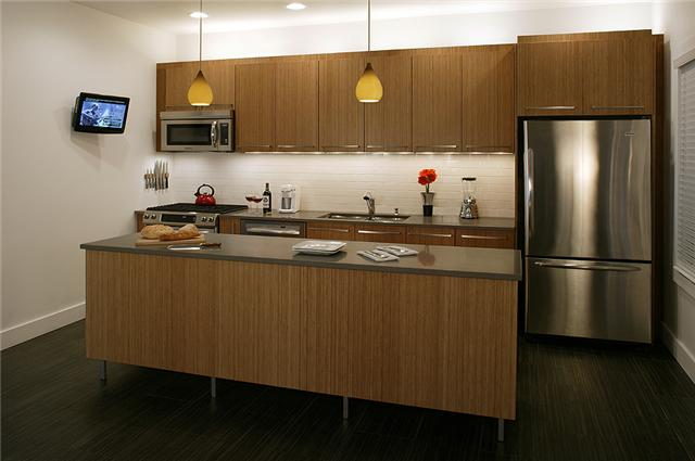 Custom Bamboo Kitchen Chicago