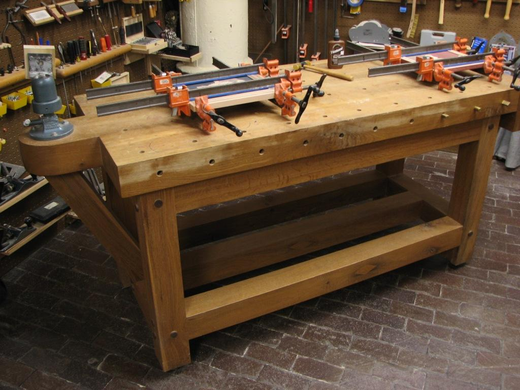 Quot 680 Pound Workbench Quot Made Out Of Old Growth White Oak