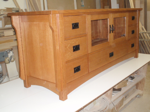 Craftsman Media Cabinet