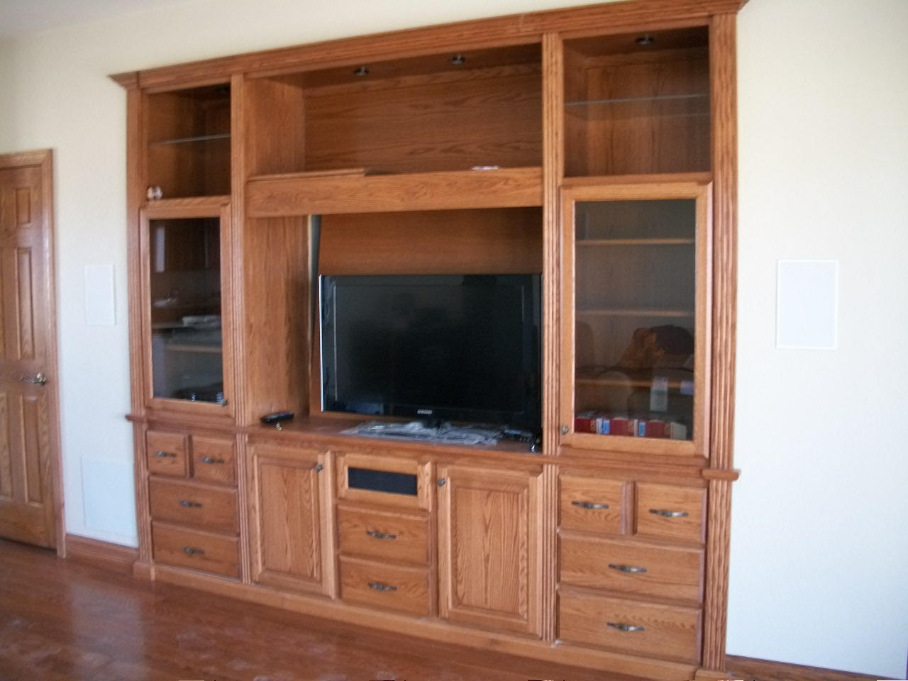 Wood built in home entertainment center plans pdf plans Design plans for entertainment center
