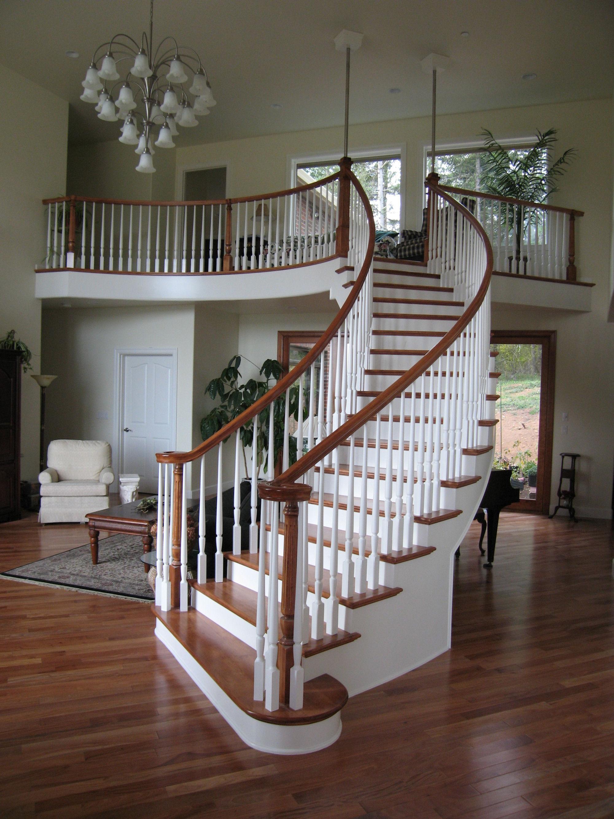Free Standing Staircase In Camas, Washington.