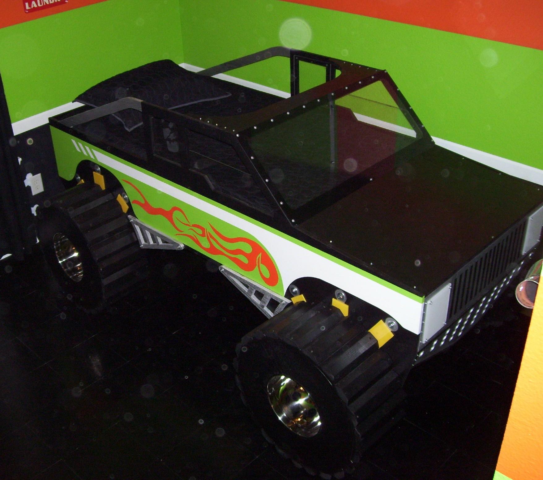 monster truck bed - Truck Bed Frame