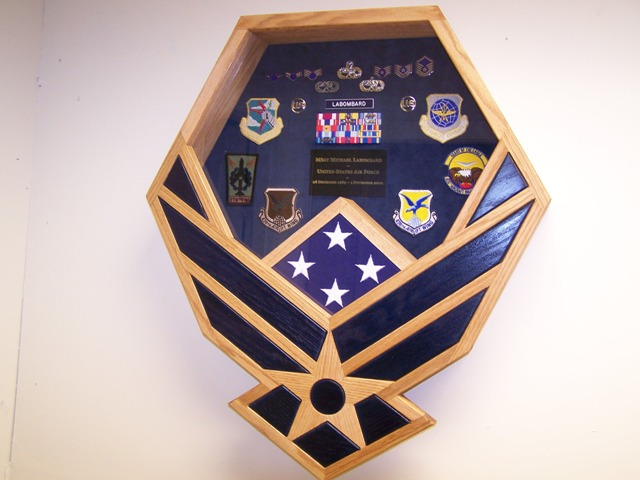 Air Force Symbol Shadowbox