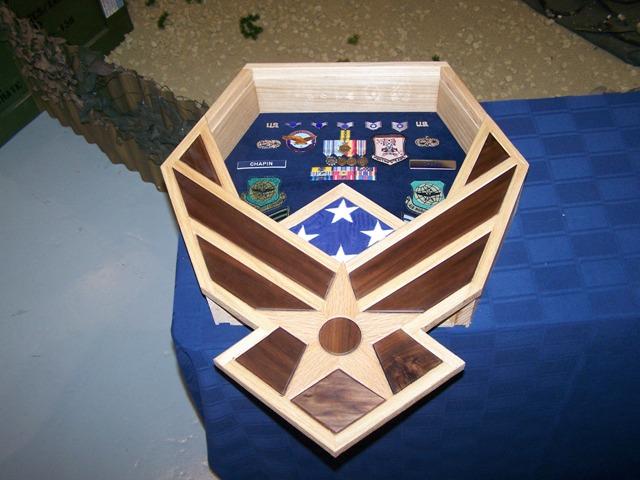 Air Force Symbol Shadowbox