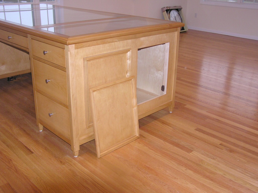 Woodworking plans desk with secret compartments PDF Free Download