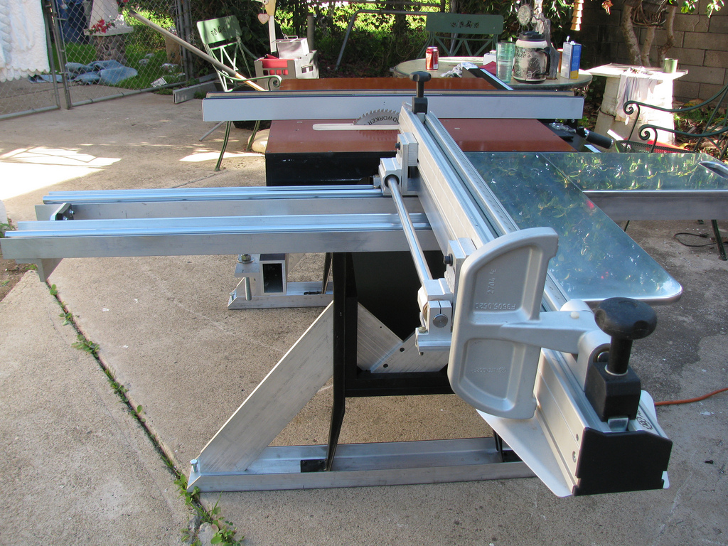 Sliding Tablesaw Homemade : View Larger, Higher Quality Image