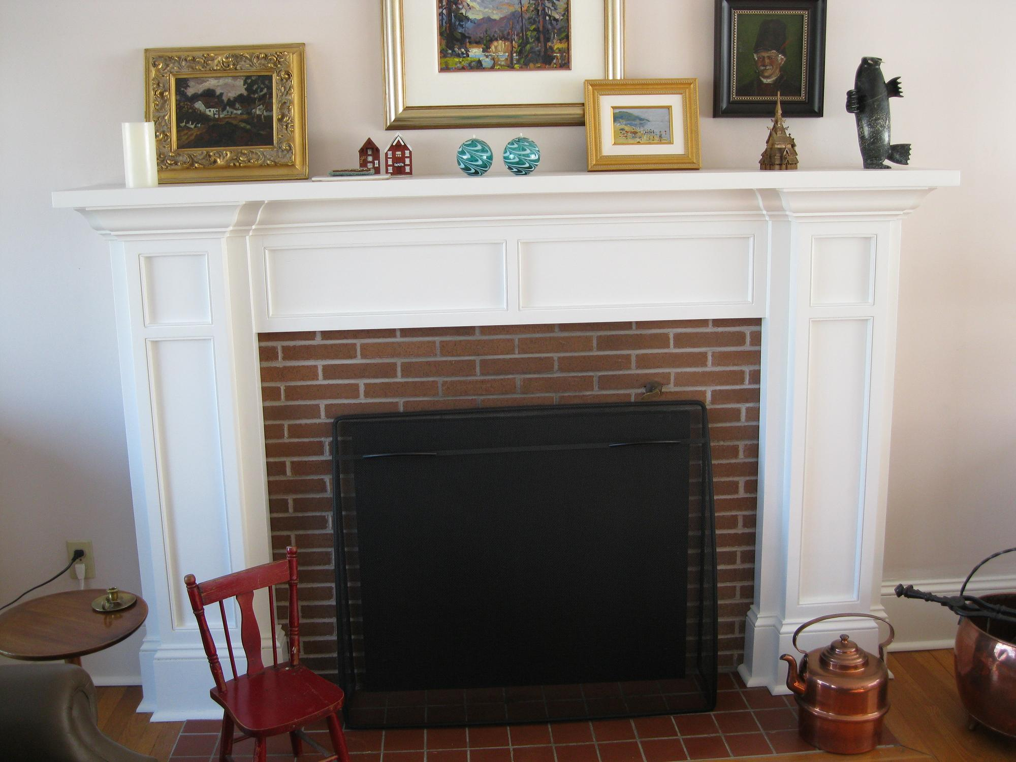 Mantel decor brick fireplace - View Larger Higher Quality Image Brick Fireplace Mantel Ideas