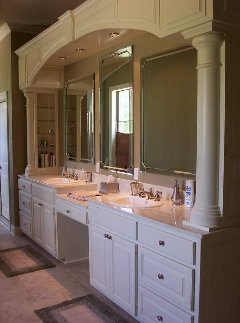 Master bathroom vanity for Master bath vanities pictures