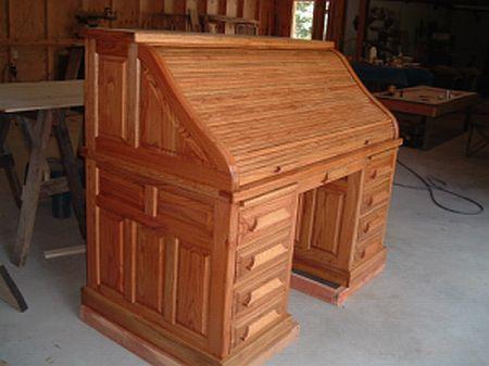 Unfinished Roll Top Desk Kits Custom Built Storage Sheds
