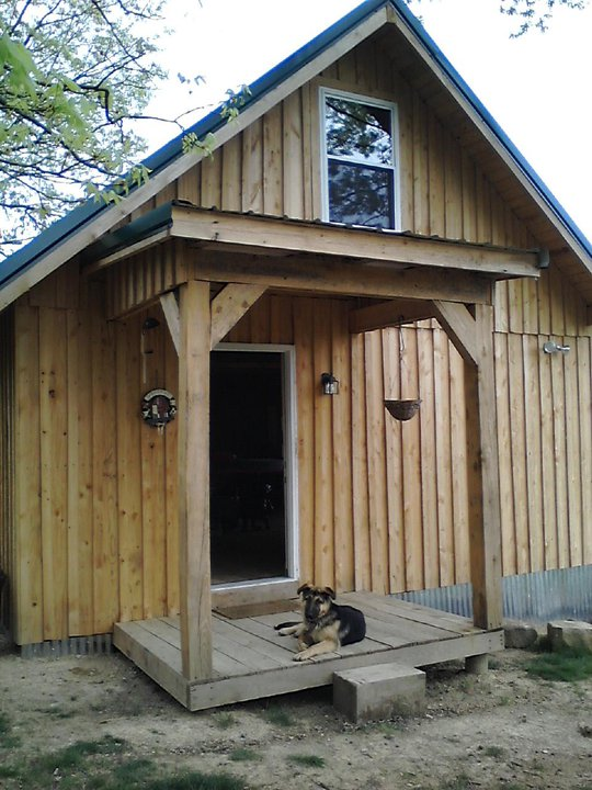 Our 20x24 cabin for Board and batten cabin plans