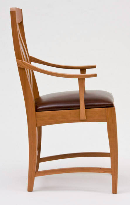 Wooden Chair Side