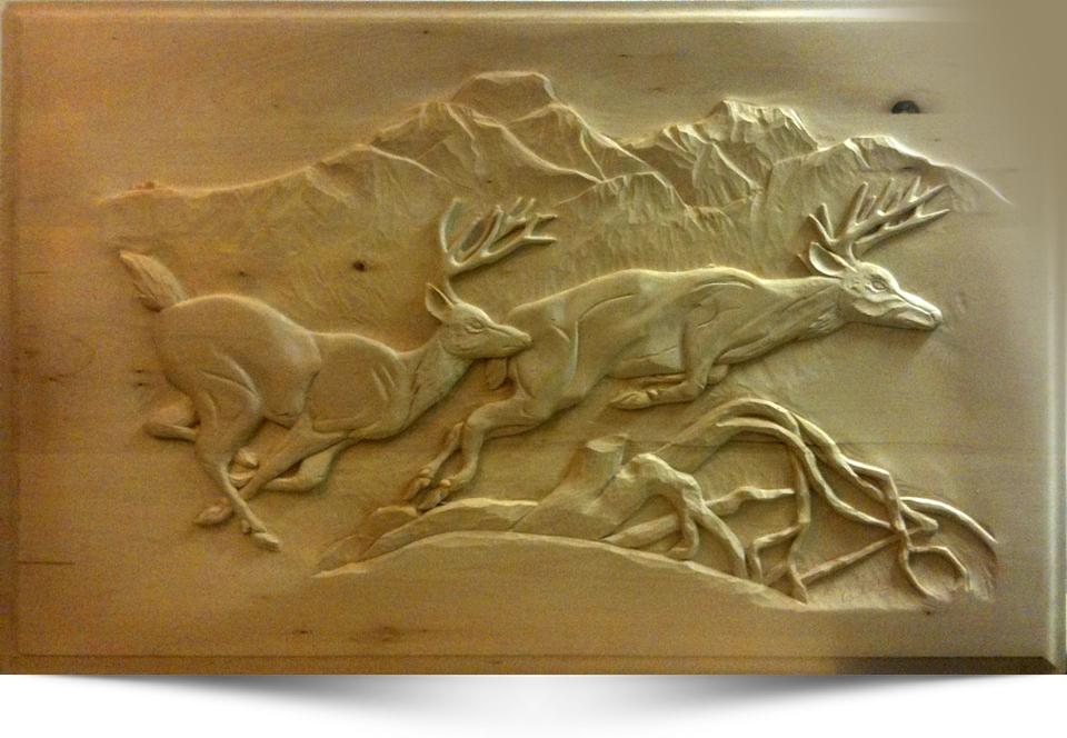 Download relief wood carving plans free
