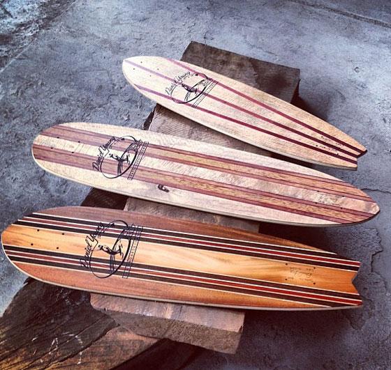 Premium Hawaiian And Exotic Wood Skateboards