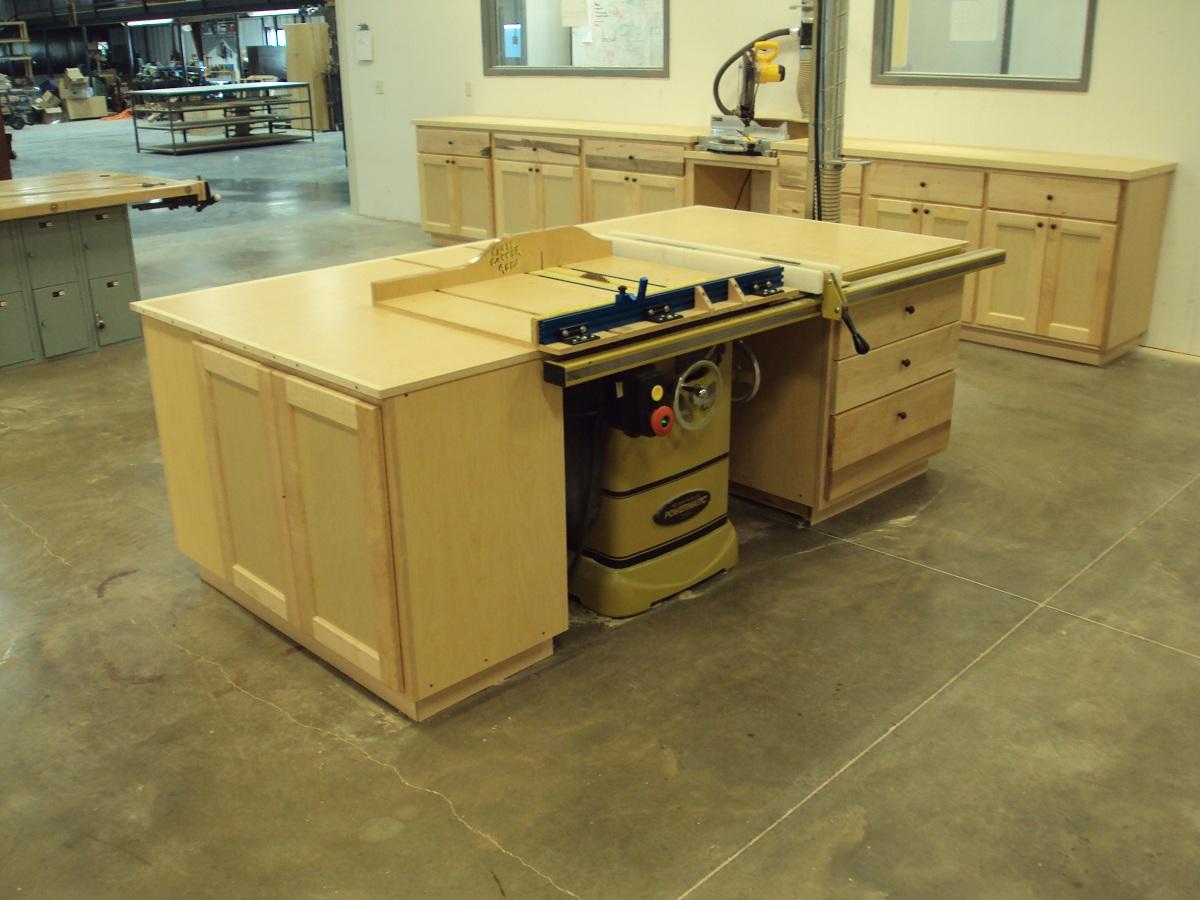 Kiowa County High School Shop Projects