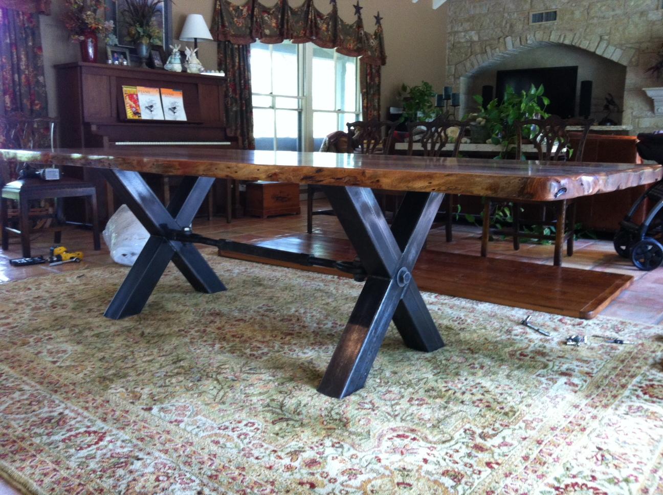 Texas Honey Mesquite Dining Table