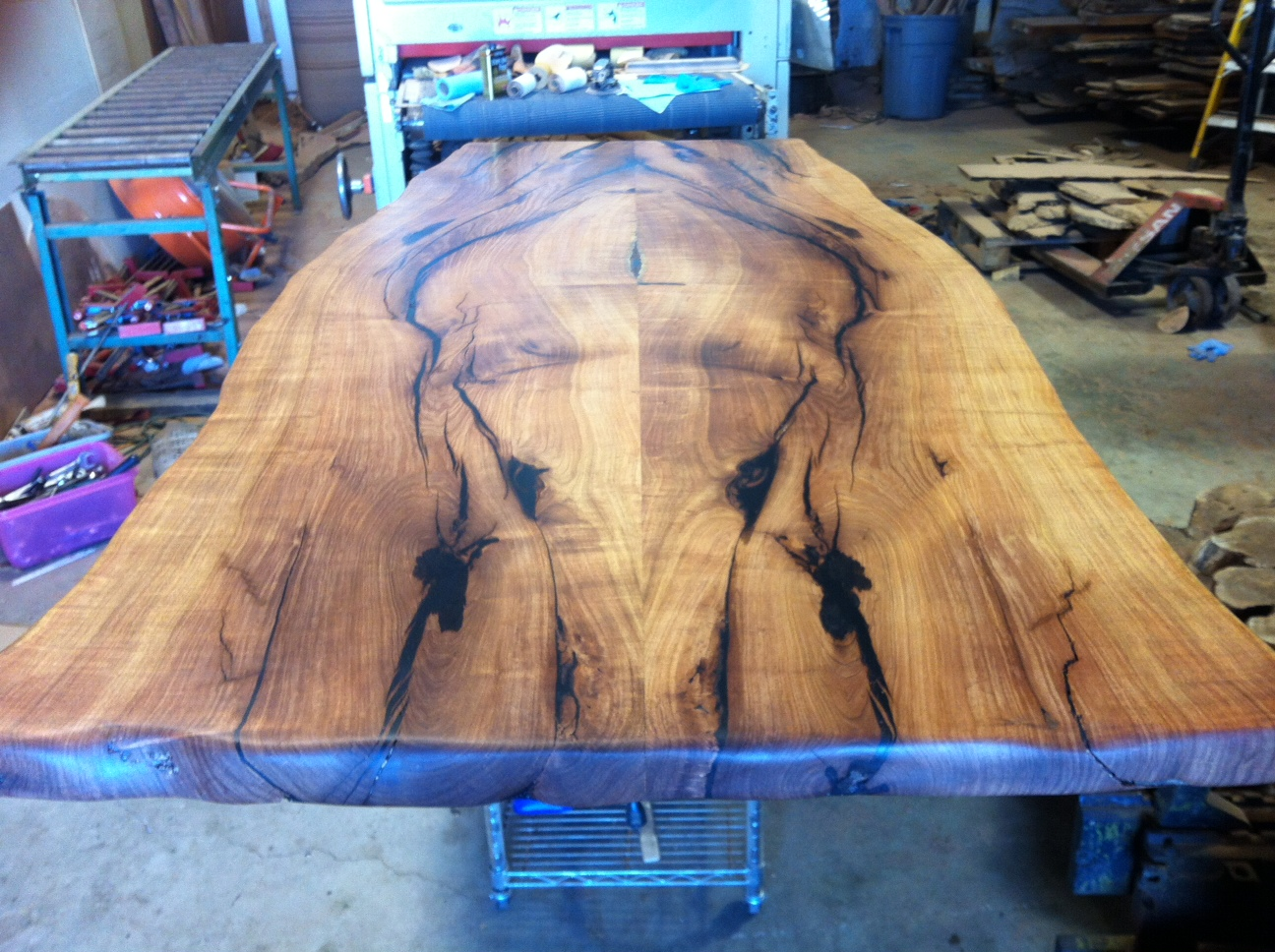 Mesquite Dining Table Texas pub height cherry wood dining
