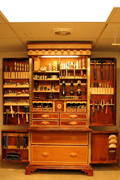Inlayed Tool Chest