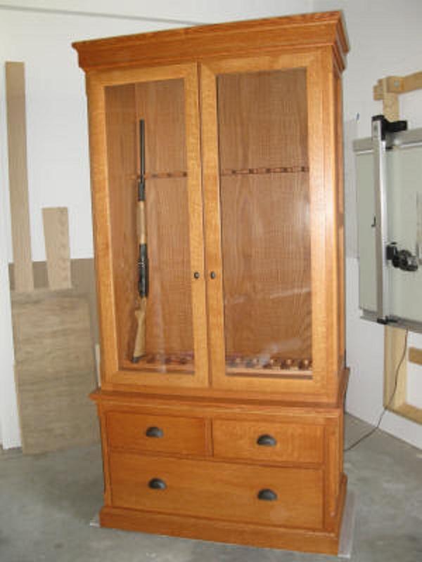 Custom gun display cabinets - Custom display cabinets ...