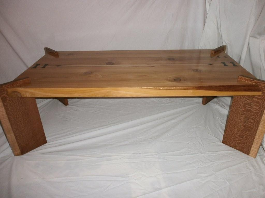 Old Growth Live Edge Red Cedar Coffee Table