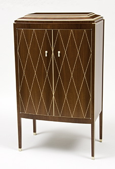 art deco chiffonnier. Black Bedroom Furniture Sets. Home Design Ideas