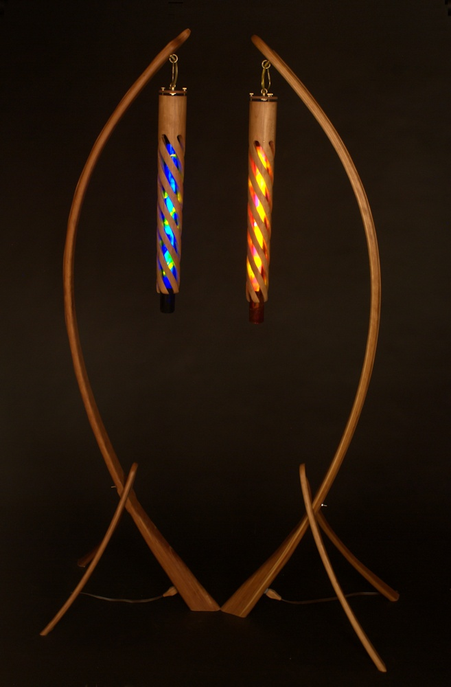 Arc Lights Floor Lamps With A Twist