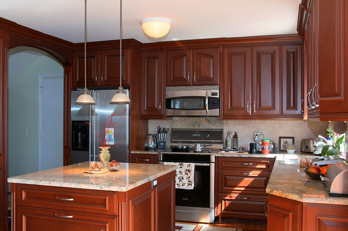 Sapele Mahogany Kitchen