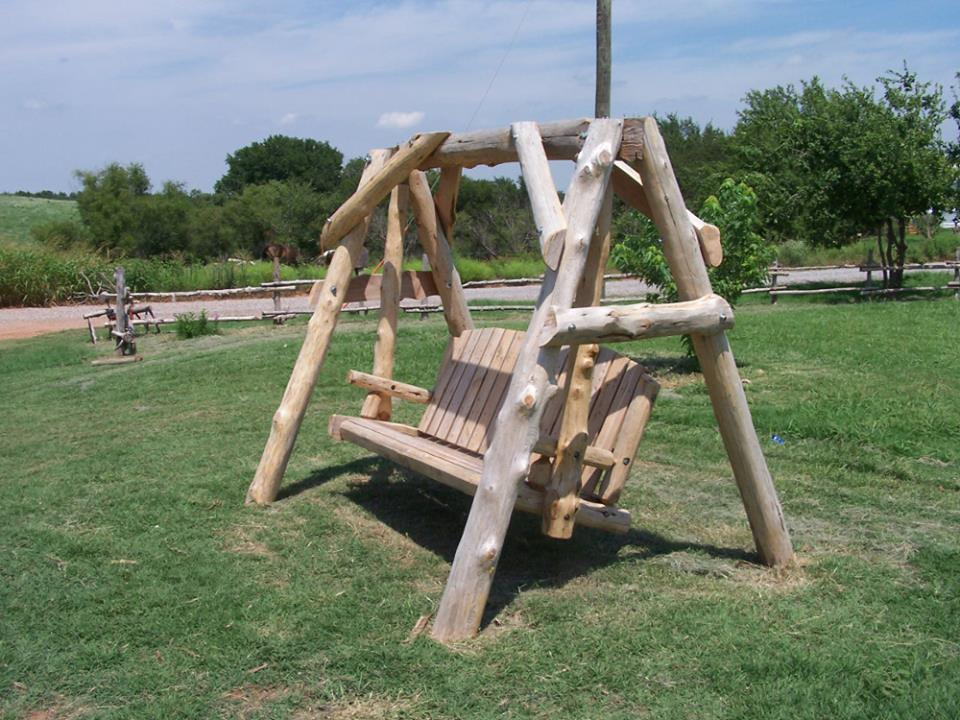 How To Build A Log Yard Swing