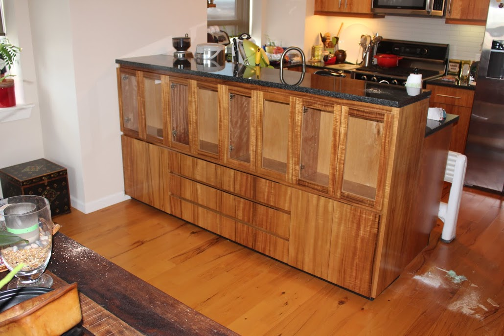 under bar display storage cabinet