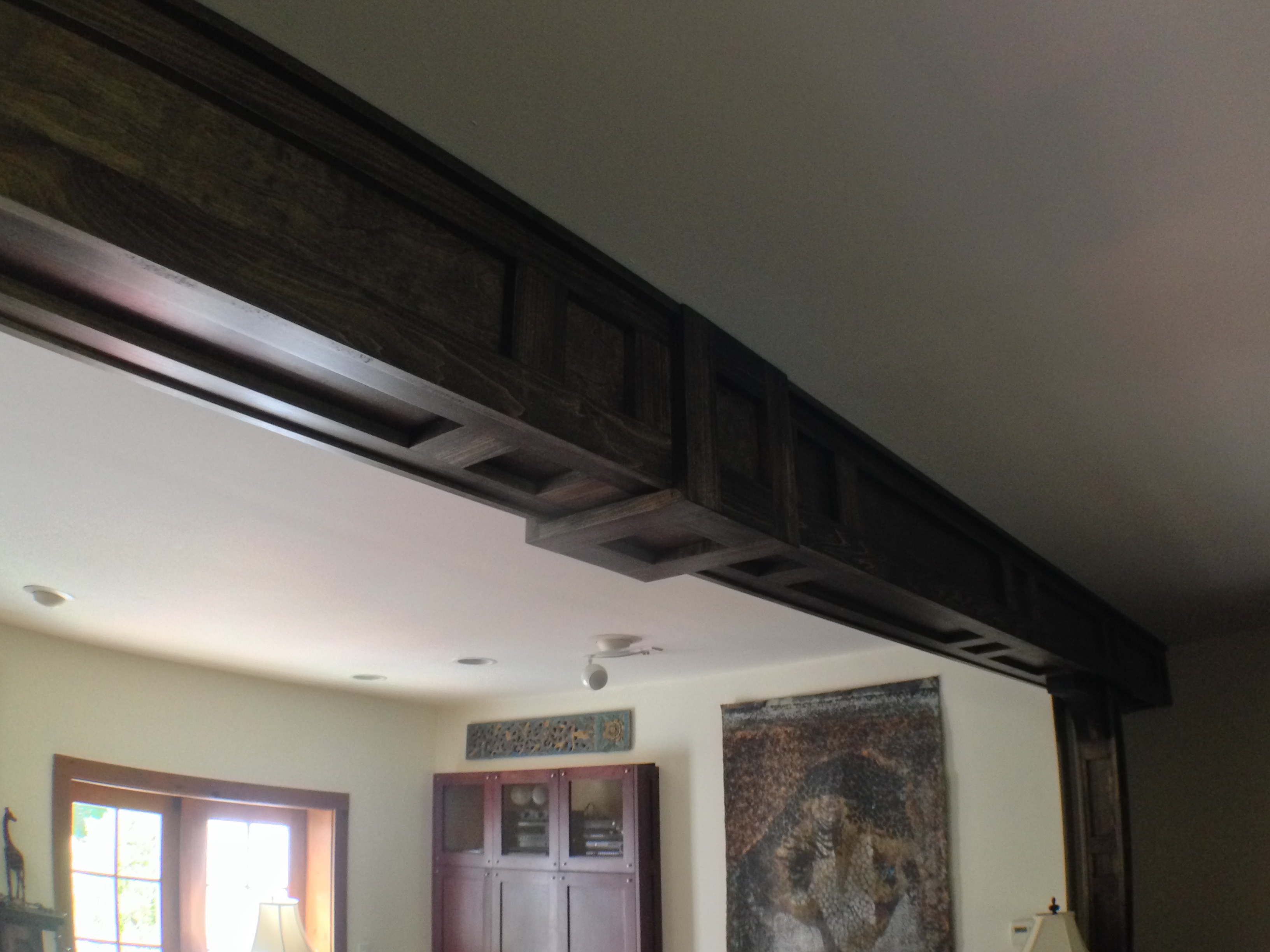 Ceiling Beam Designs Frame And Panel