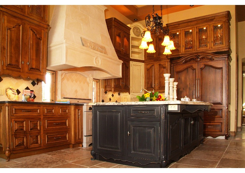 French country kitchen for Kitchen designs french country