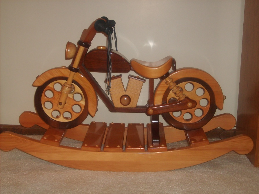 Woodwork Plans Motorcycle Rocking Horse PDF Plans