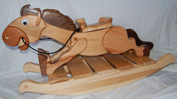 Woodworking cnc rocking horse plans PDF Free Download