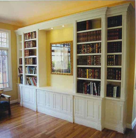 Bookcase Plans and Designs 576 x 587
