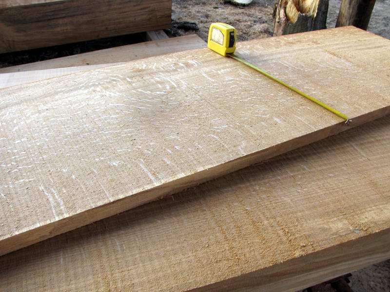White Oak Boards ~ Raven farm sawmill