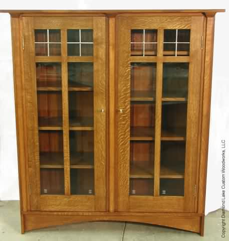 Furniture plan instant get woodworking plans arts crafts for Arts and crafts bookshelf