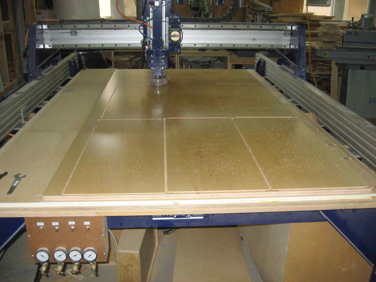 CNC Cutting Up To 8 Feet Long X 5 Feet Wide.